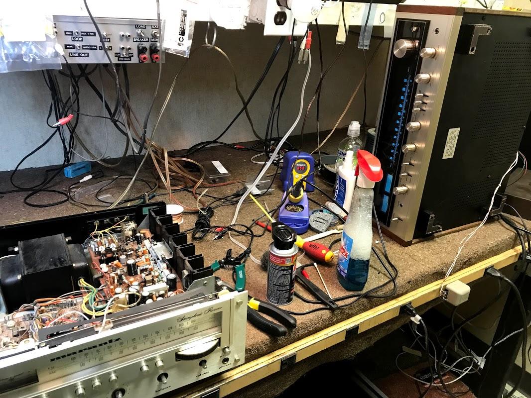 vintage audio repair